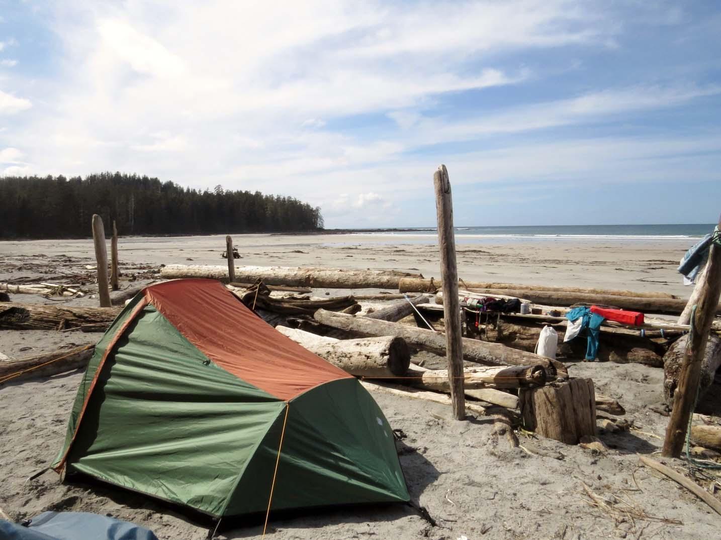 Cape-Scott-Provincial-Park-hike-Nels-Bight-camping