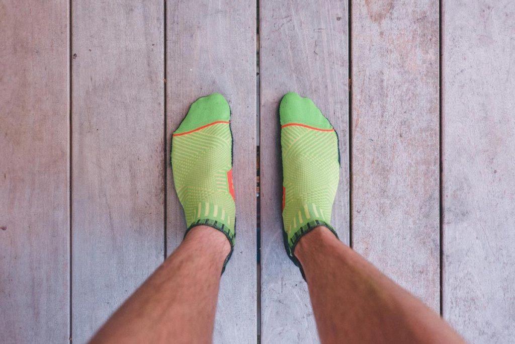 running socks to prevent blisters